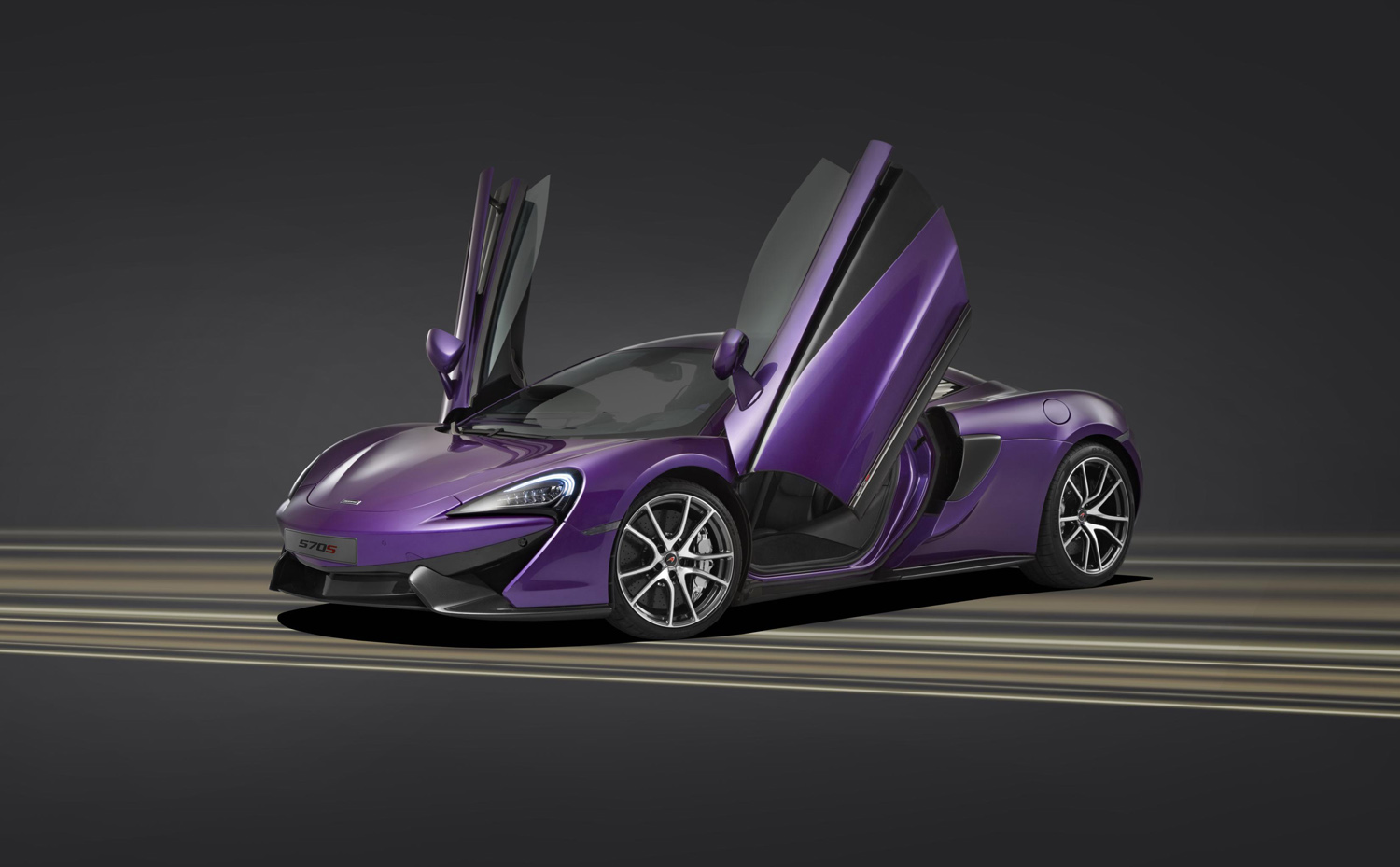 This One-Off McLaren is a Stunning Purple Porsche Eater