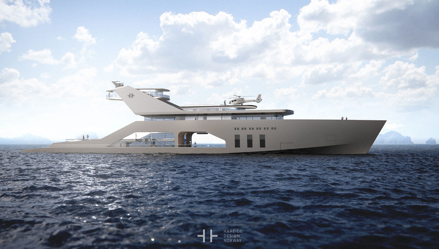 This Stunning MegaYacht's Open Concept Design Will Blow Your Mind