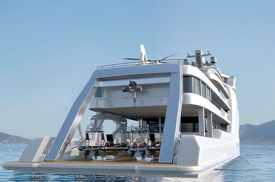 This Yacht Has Its Own Built-In Aquarium