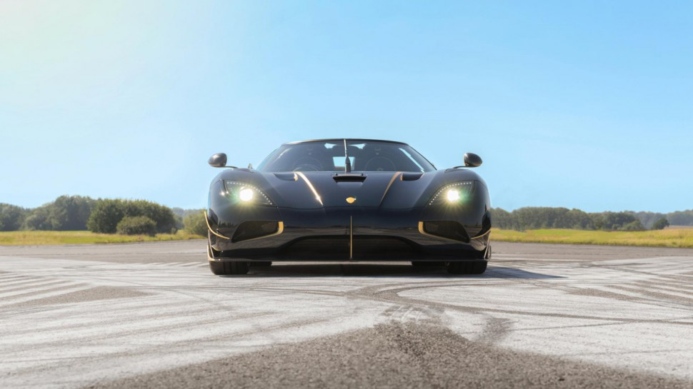 Koenigsegg's New Agera RS 'Naraya' is the First to Arrive in Europe