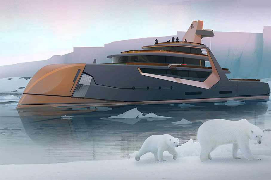 Monaco Yacht Show: The Super Yacht to end all Super Yachts