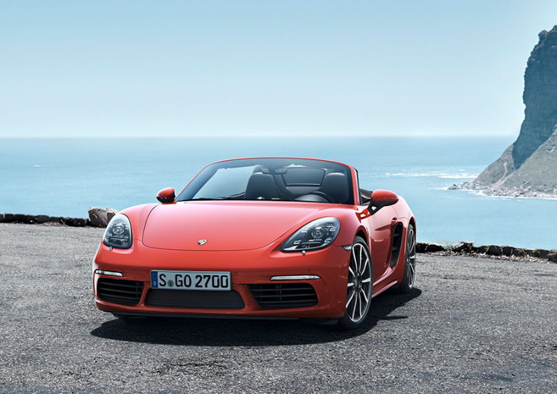 The NEW Porsche Boxster 718 is Here In All its Glory