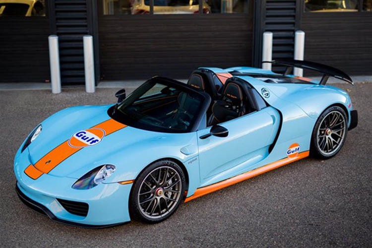 This Ultra Rare Porsche 918 Spyder Would Make this Iconic Celebrity Proud