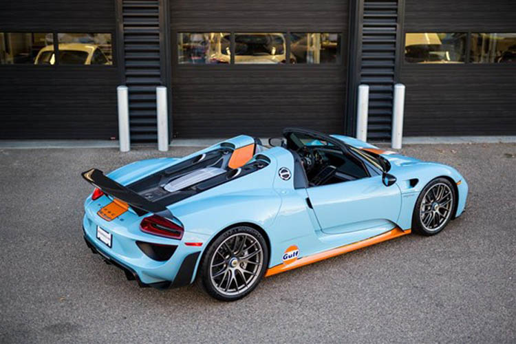 this ultra rare porsche 918 spyder would make this iconic. Black Bedroom Furniture Sets. Home Design Ideas