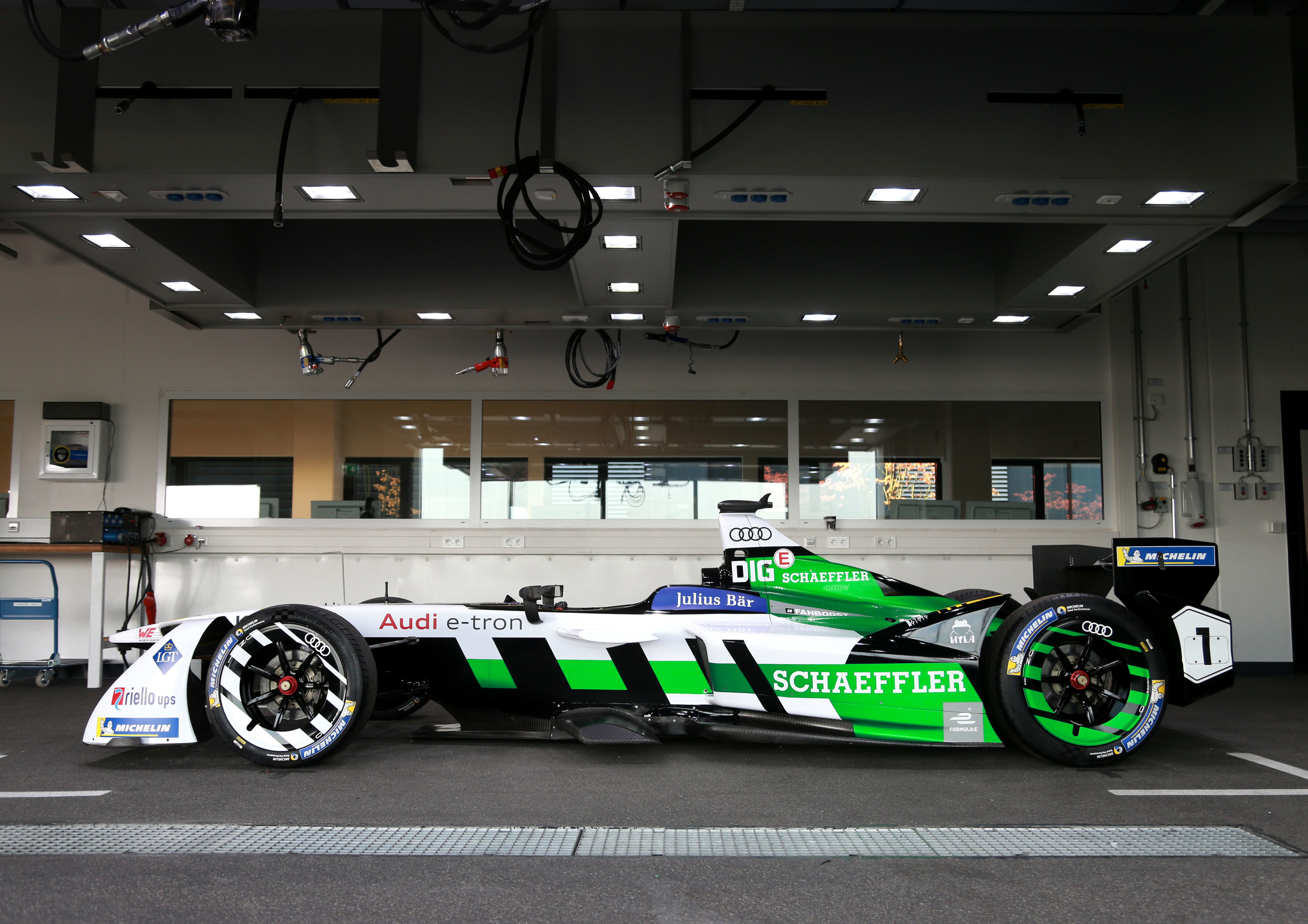 This is Audi's Factory Formula E Fighter