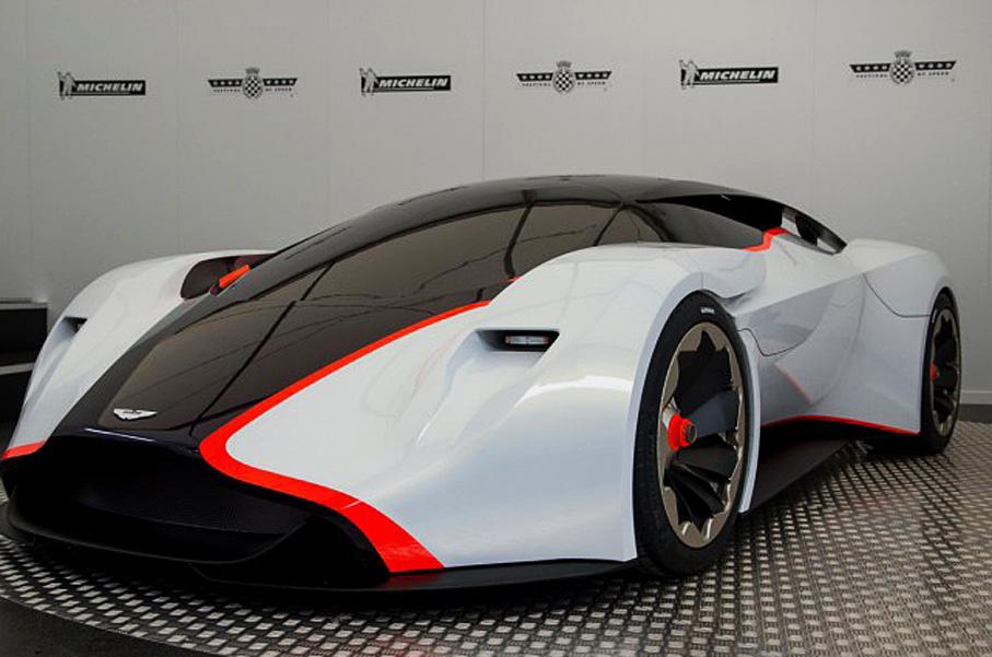The Aston Martin Dp 100 Vision Gran Turismo Concept Is Stunningly