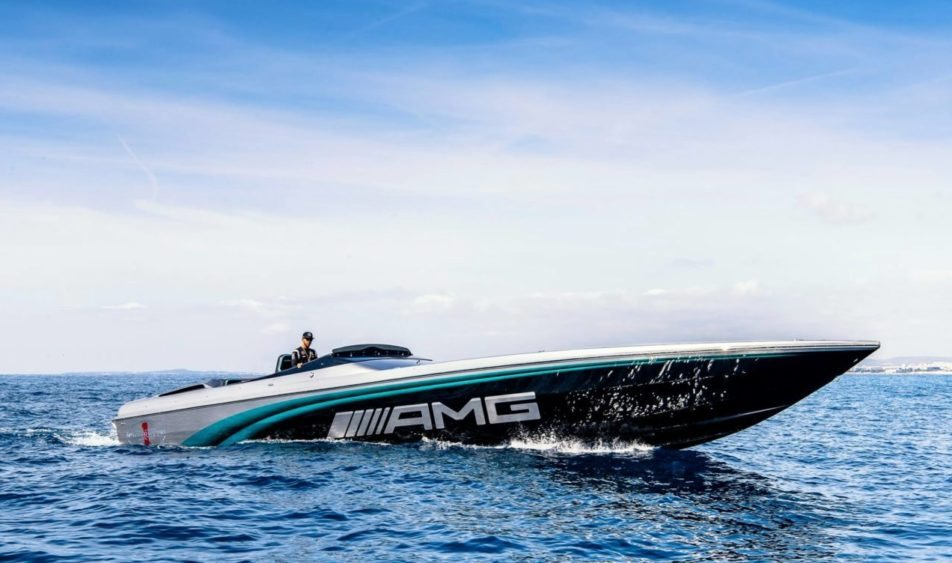 Lewis Hamilton Helps Debut Crazy Cigarette Racing Concept Boat