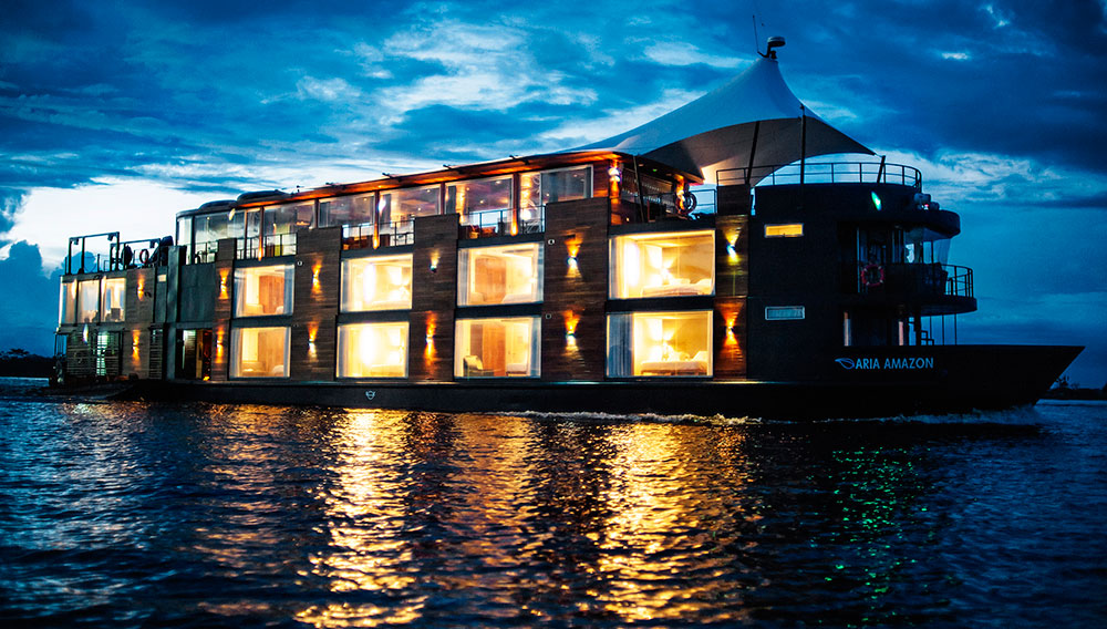 You Can Take This New Luxury Cruiser Down the Amazon River