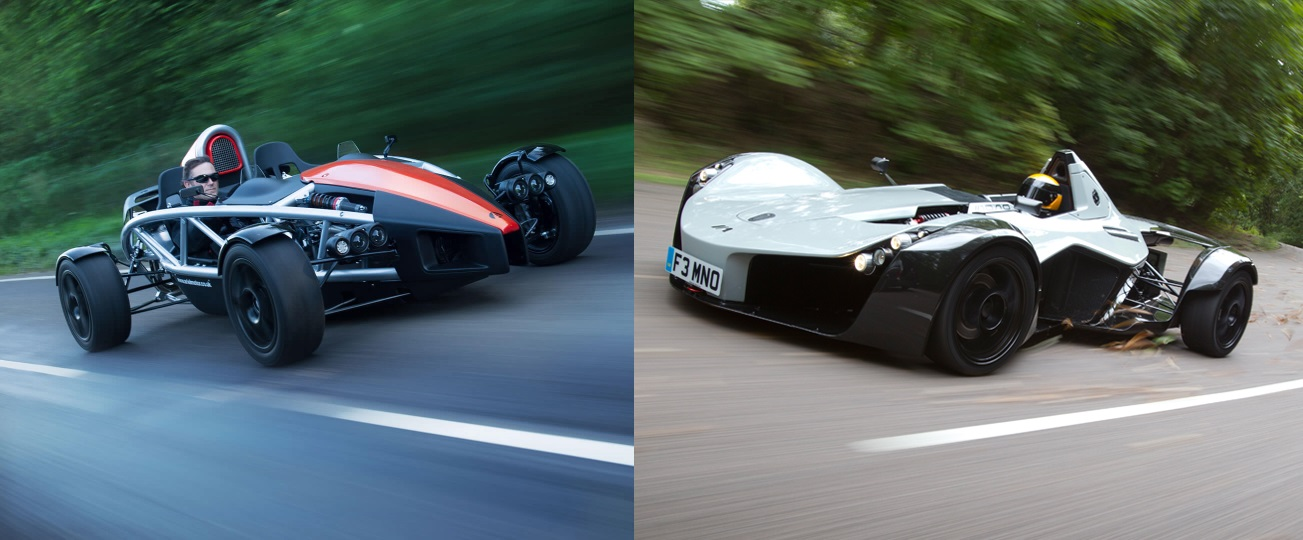 L4P Battle: BAC Mono VS. Ariel Atom