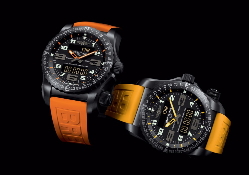 The Breitling Emergency Gets New Colors