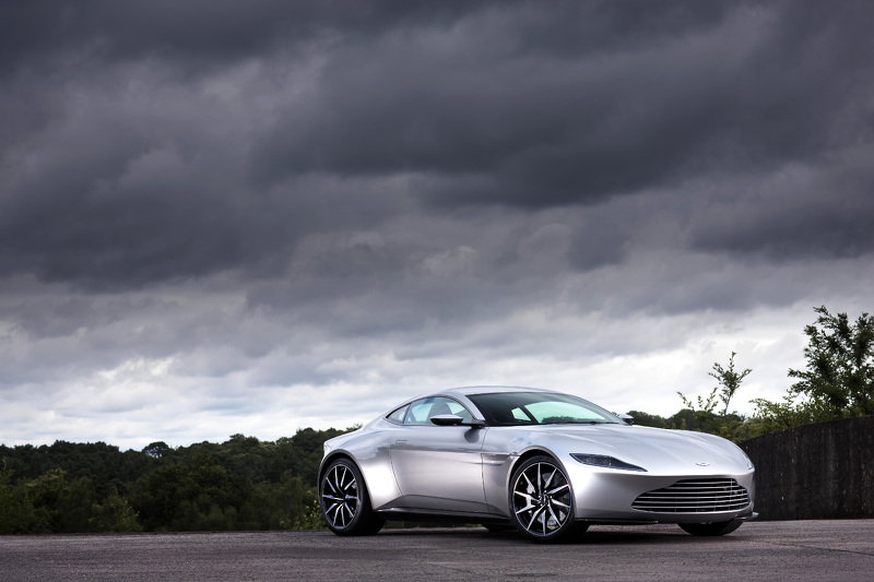 Here's Why Aston Martin is Auctioning Off One James Bond DB10 From Spectre