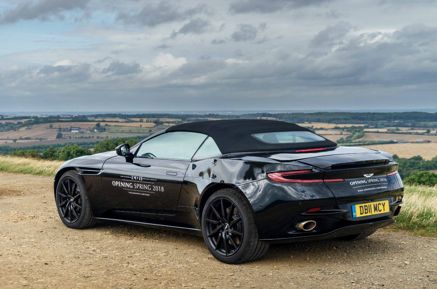 Aston Martin Just Strip Teased the New DB11 Convertible