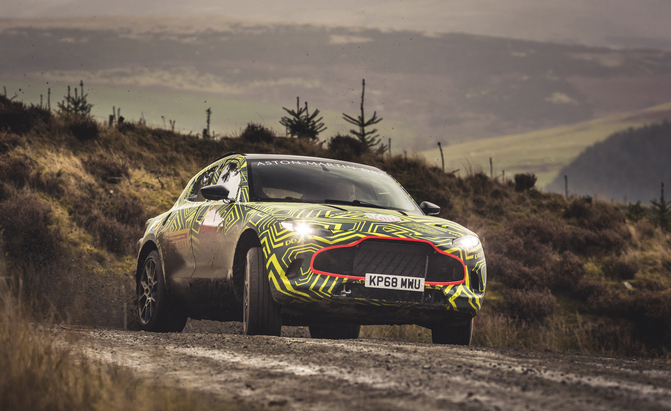 Your First Look at the New Aston Martin DBX, Brand's First SUV