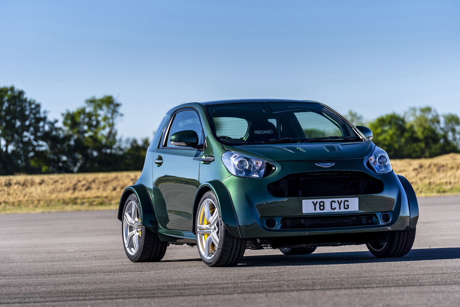 The Aston Martin V8 Cygnet is All that Matters in the World
