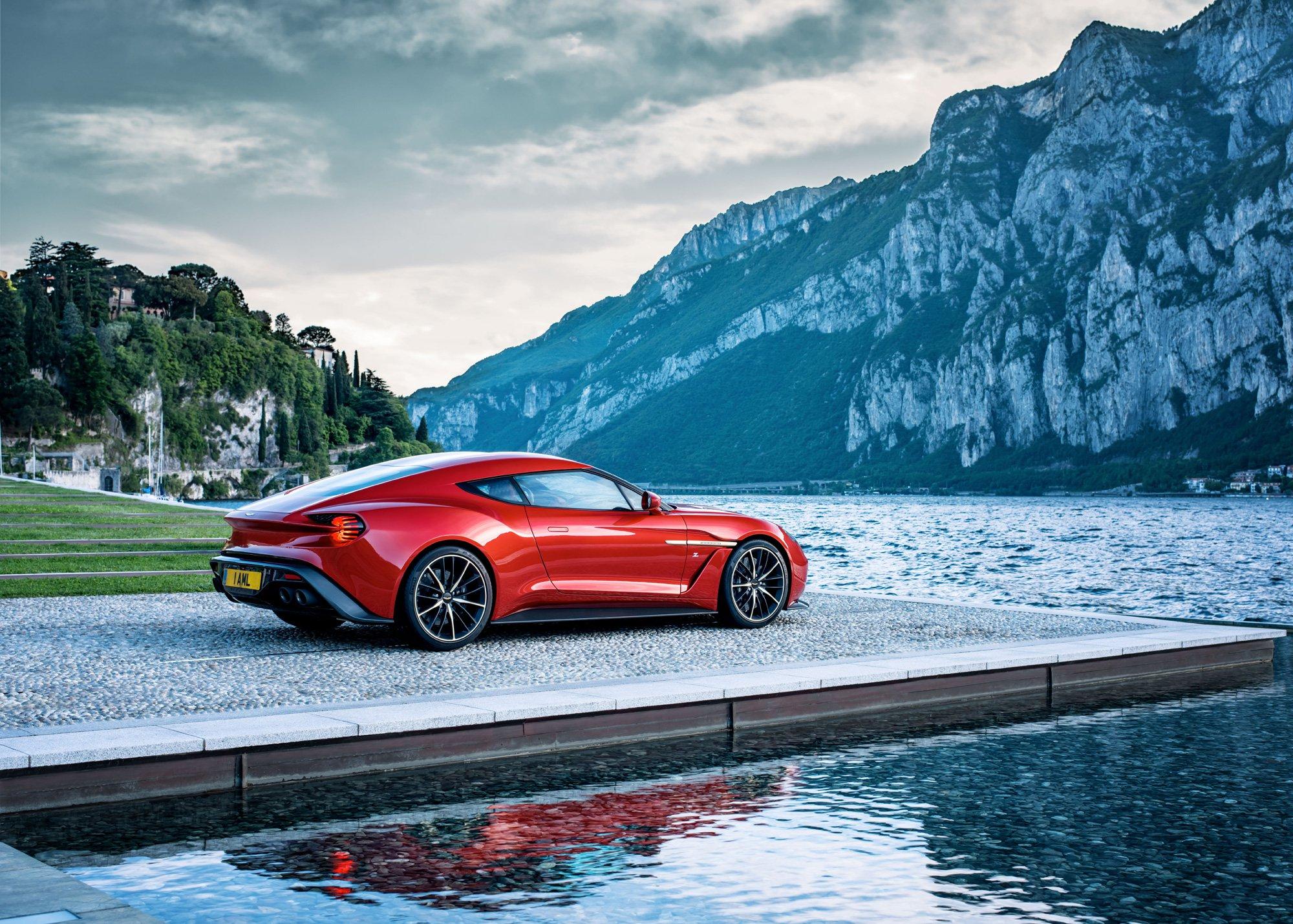 This Sexy Video Celebrates the Aston Martin Vanquish Zagato Heading into Production