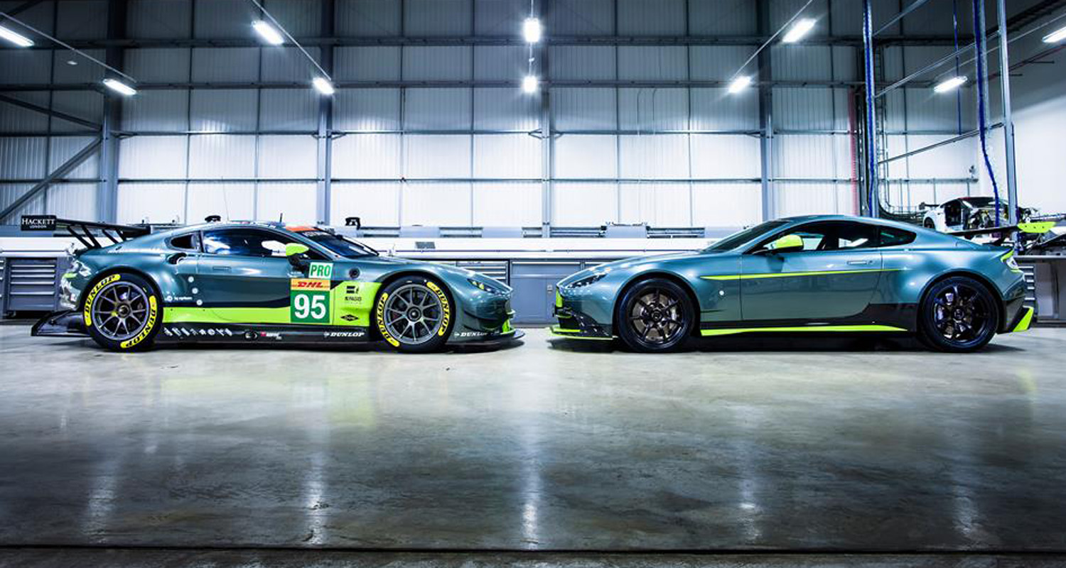 Aston Martin Vantage GT8 is a Hardcore Track Machine
