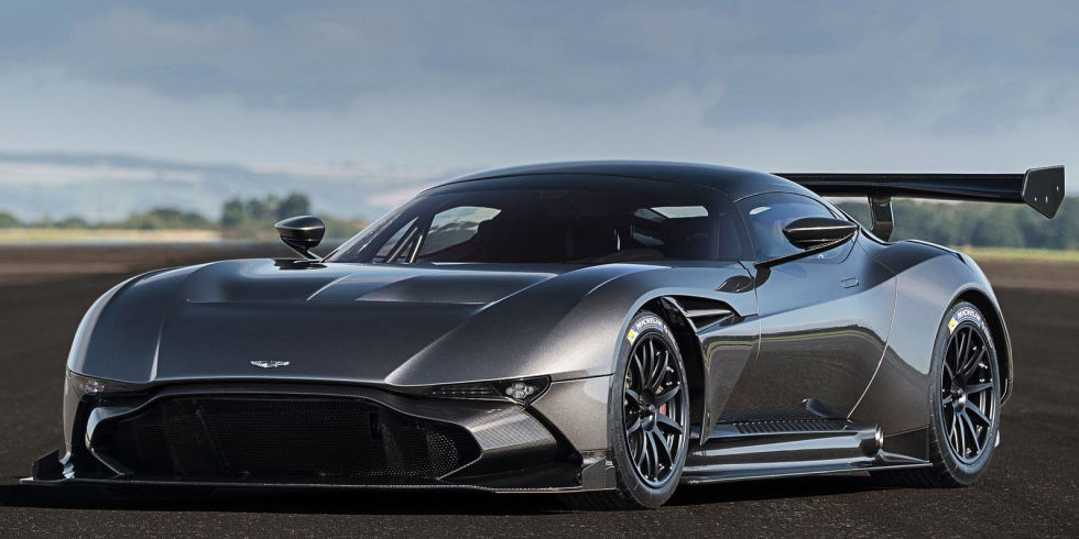 America's Only Aston Martin Vulcan is For Sale For This Astronomical Price