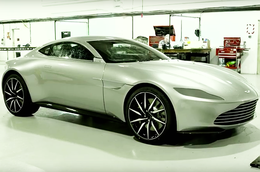 Check Out These Epic Chase Scenes With 007's Aston Martin from Spectre