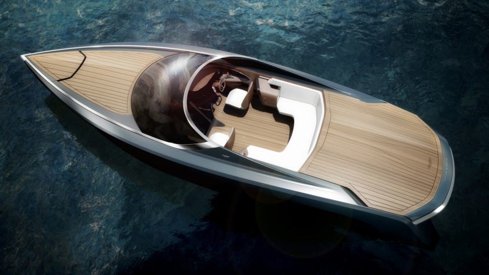 Aston Martin's Very First Powerboat is Here