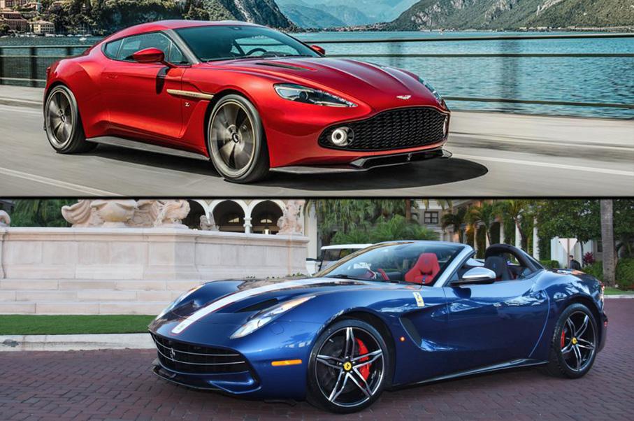 Would You Rather: Aston Martin Vanquish Zagato or Ferrari F60 America?