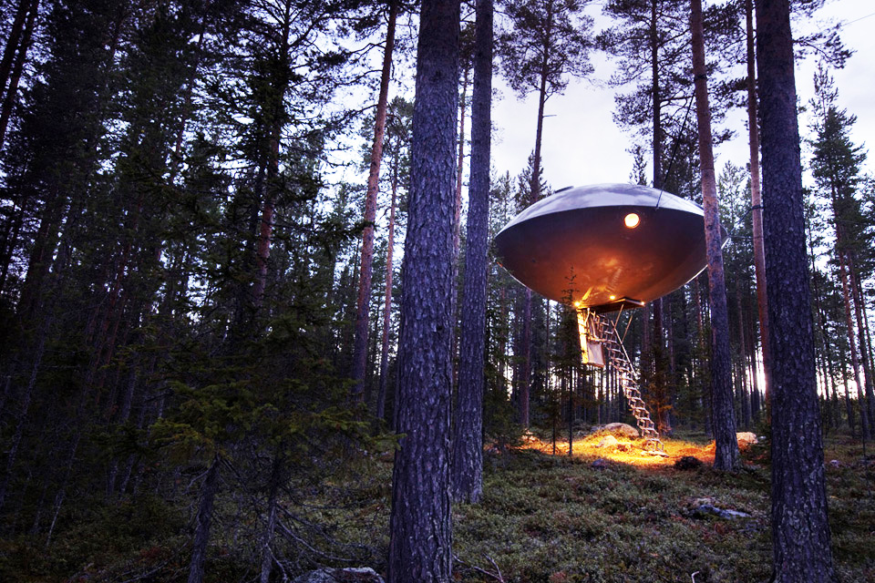 This Swedish Hotel Built the 5 Most Luxurious Tree Houses You've Ever Seen