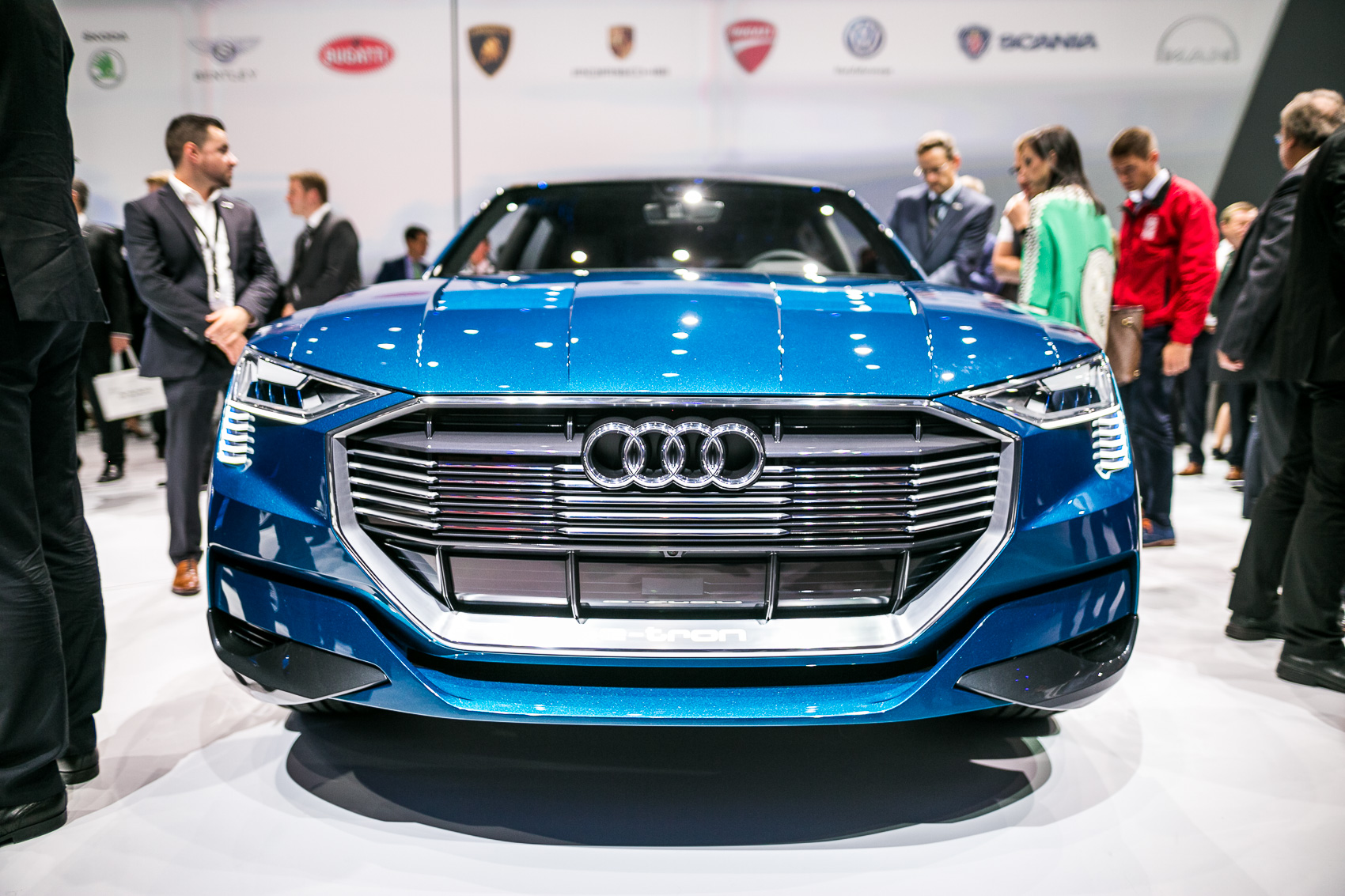 Audi Will Name its First Battery Electric Vehicle 'e-tron'