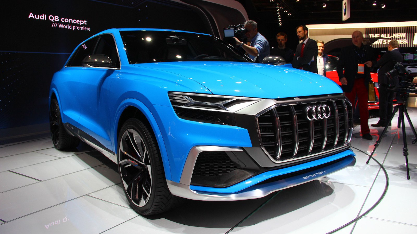 Audi Q8 Concept is one of Those Coupes That Thinks it's an SUV…