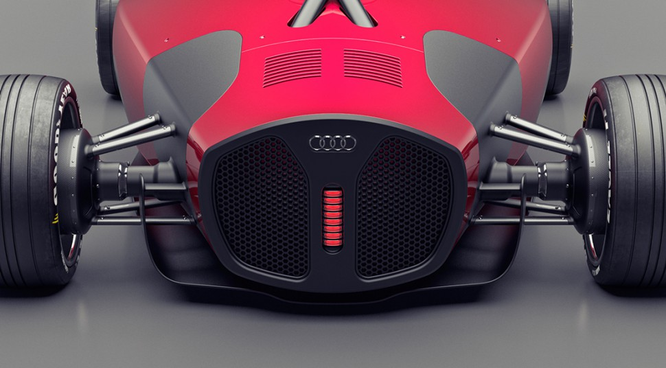 This Art Deco Concept Car Might be the Coolest Audi Ever!