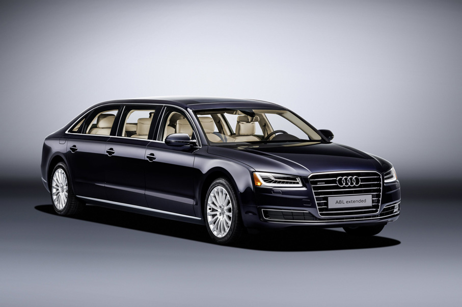 Audi Just Released an Ultra-Luxury Six-Door Limo—And You Have To See Inside