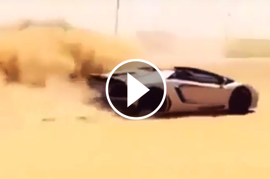 Did This Guy Really Go Off-Roading With His Lamborghini Aventador?