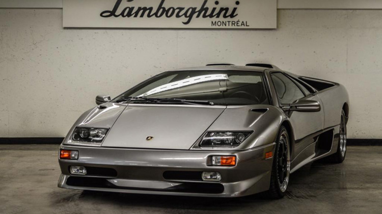 Why Does This 17 Year Old Lamborghini Diablo Sv Have Only One Mile On It Luxury4play Com