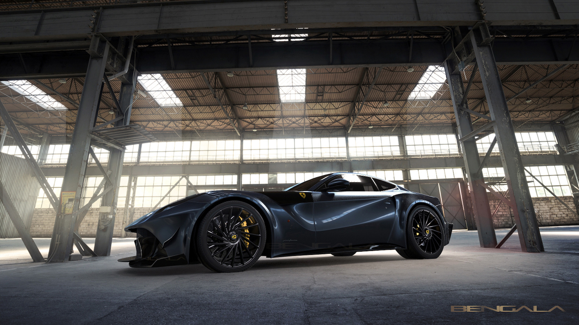 Bengala Takes the Ferrari F12 to the Nth Degree With the F12 Caballería