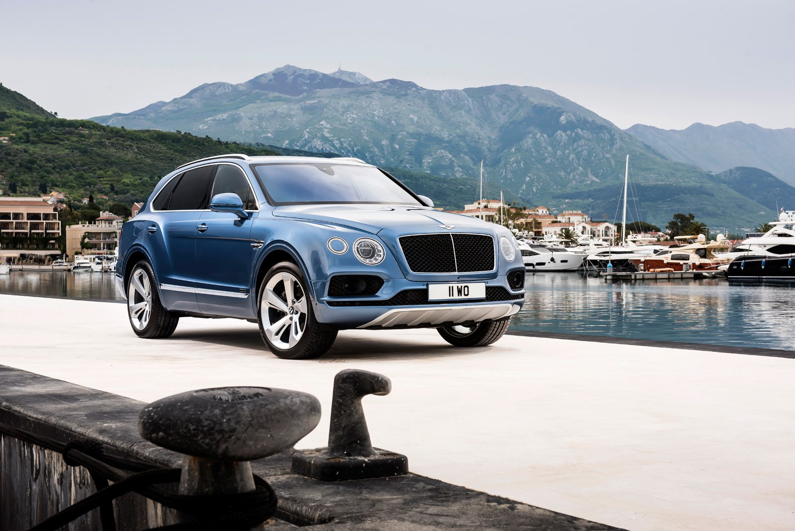 Of Course Bentley is Building the World's Fastest Diesel SUV