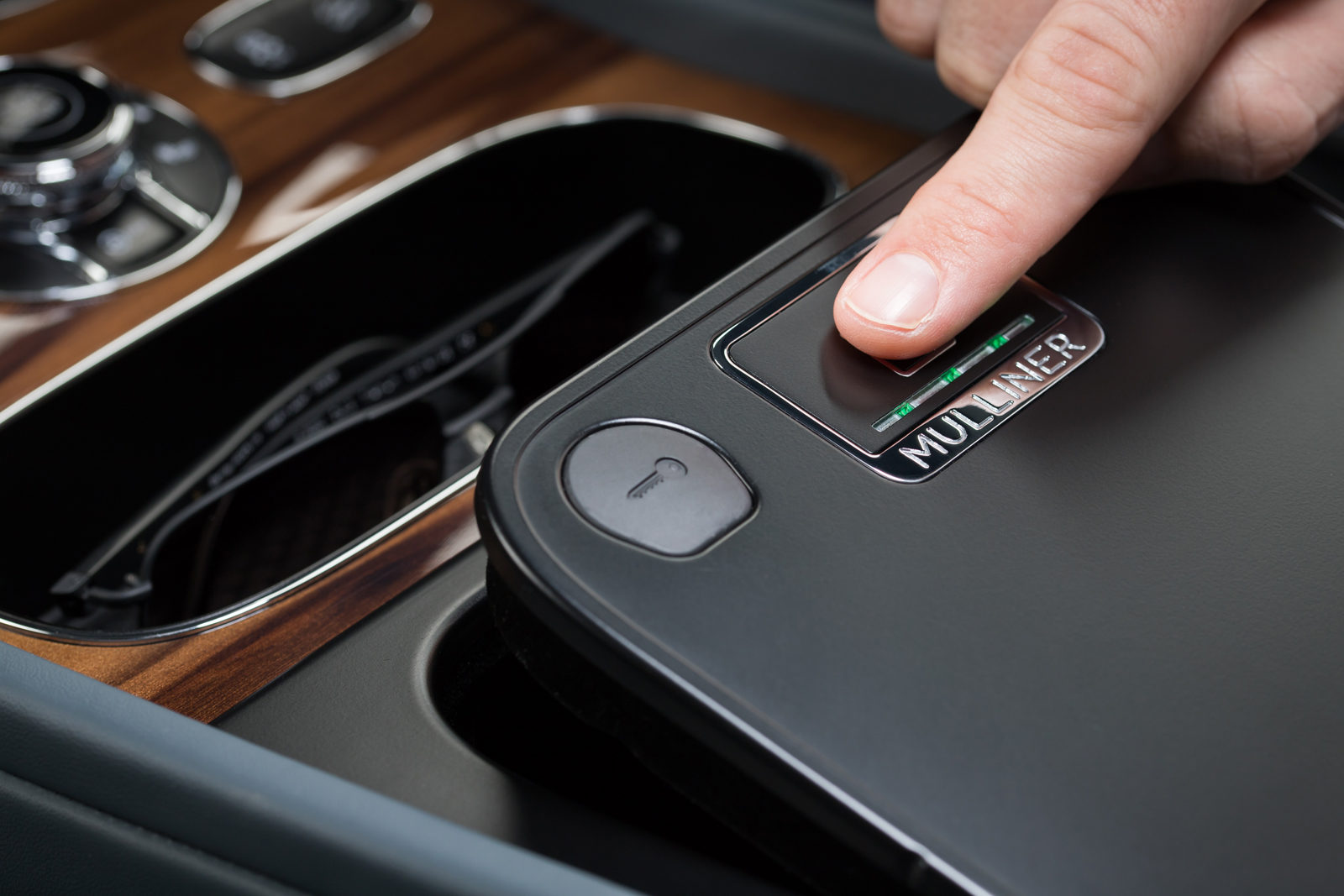 Bentley Introduces Biometric Stowage Container
