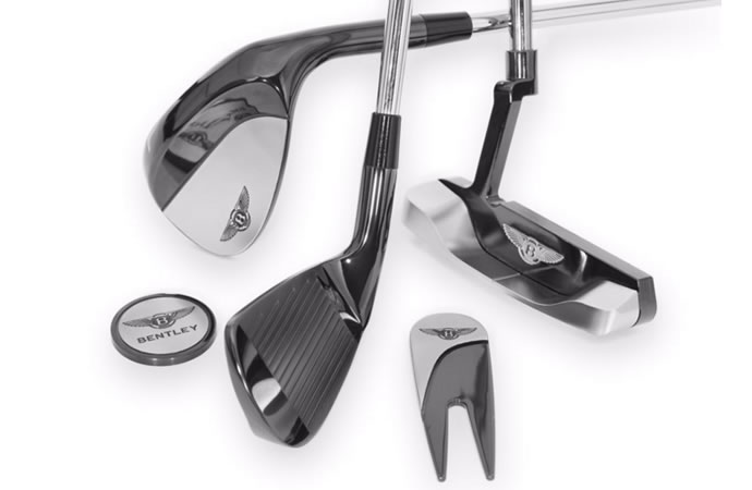 This Super Luxury Set of Bentley Golf Clubs Will Cost You More Than Most Cars
