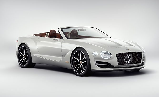 Bentley Could Use Porsche Platform for Future Electric Car
