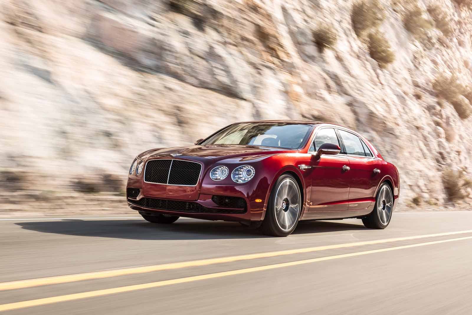 The Bentley Flying Spur V8 S Has More Power Than Ever and All These Upgrades