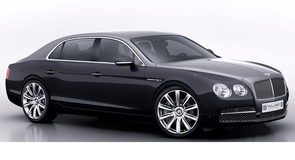 Bentley Mulliner Crafts Custom GQ Flying Spur for Korea