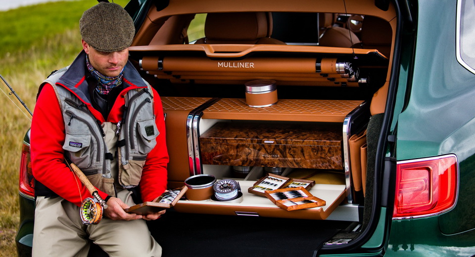Bentley Bentayga's New Fishing Kit Is A Hand-Crafted Work Of Art