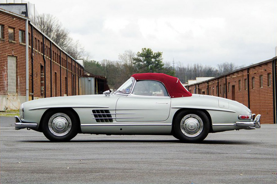 Why This 1957 Mercedes-Benz 300 SL Roadster is an Incredible Piece of Auto History