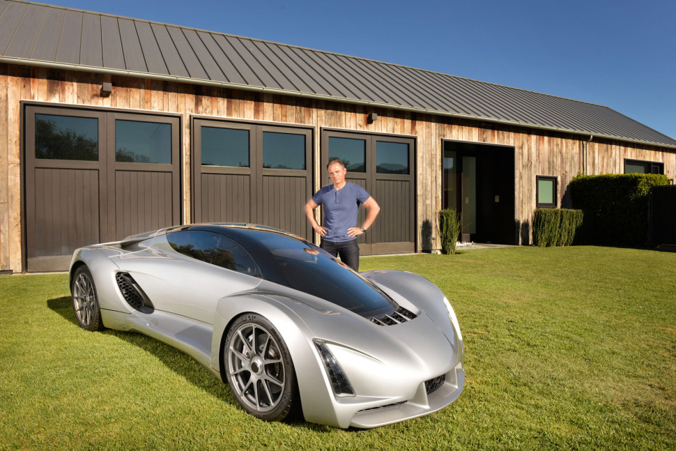 This Guy Used a 3D Printer to Make His Own Supercar and its Absolutely Spectacular!