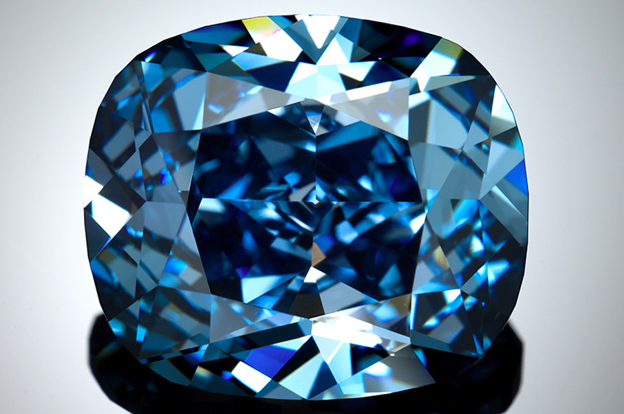 This Rare Blue Diamond Just Sold for a Record-Breaking Price That Will Blow Your Mind