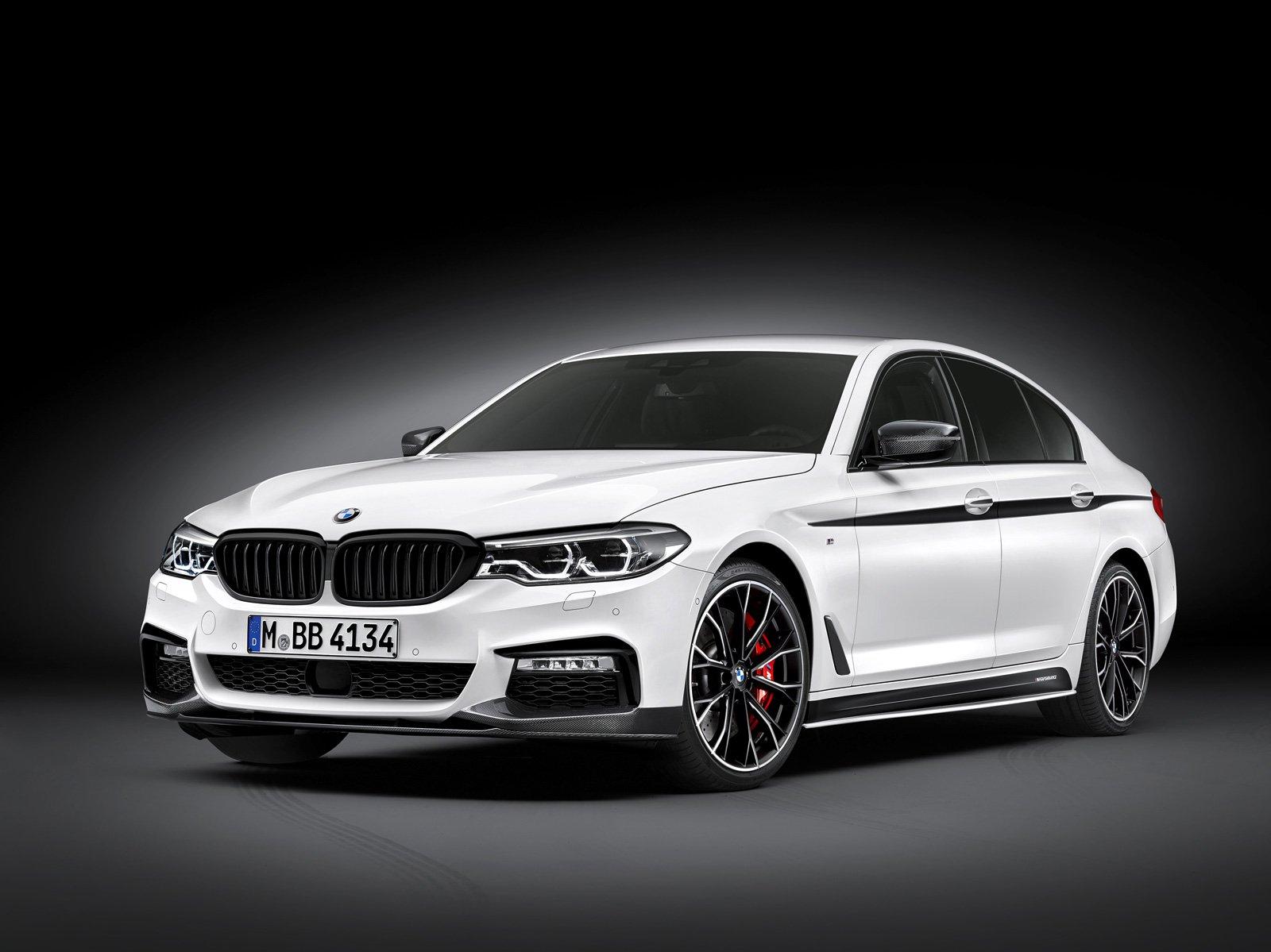 New BMW 5 Series Gets Loads of M Performance Accesssories