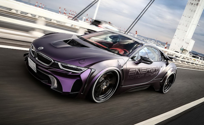 Tuned BMW i8 Is A Hybrid Fit For A Supervillain