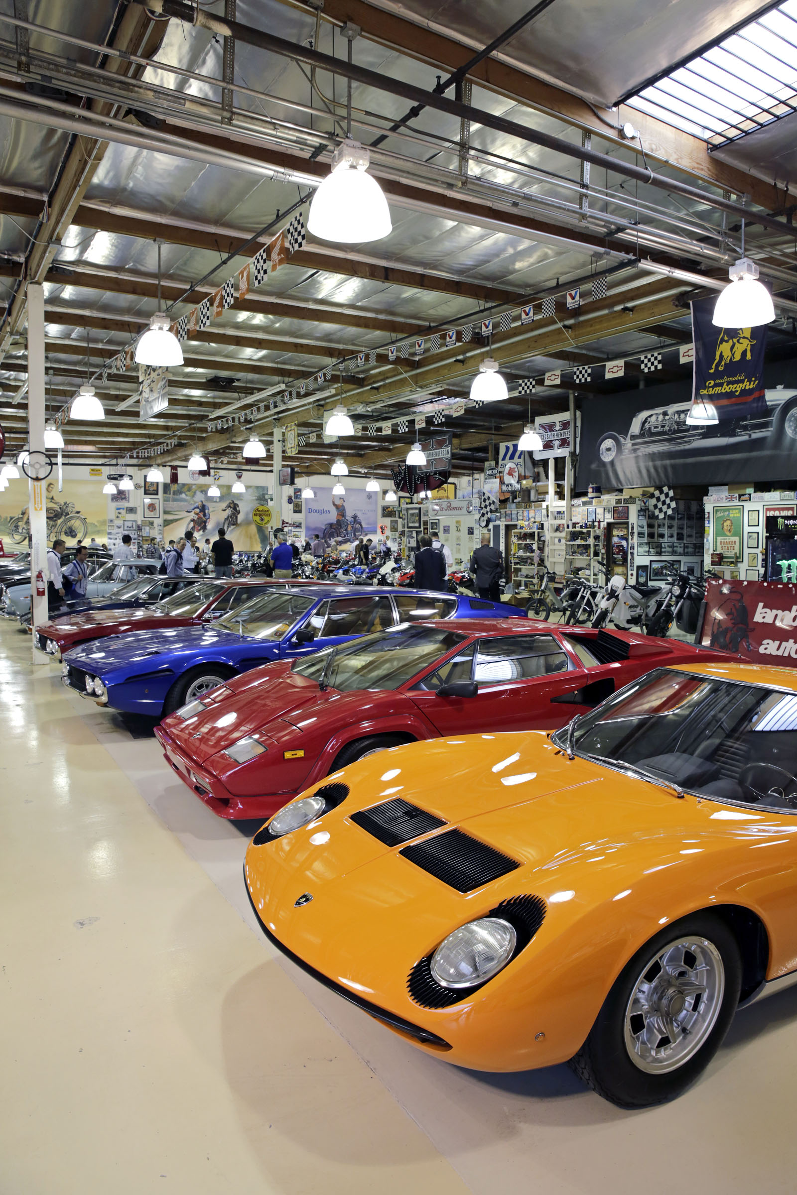 I Had a Rare Visit Inside Jay Leno's Garage. Here's What It Was Like