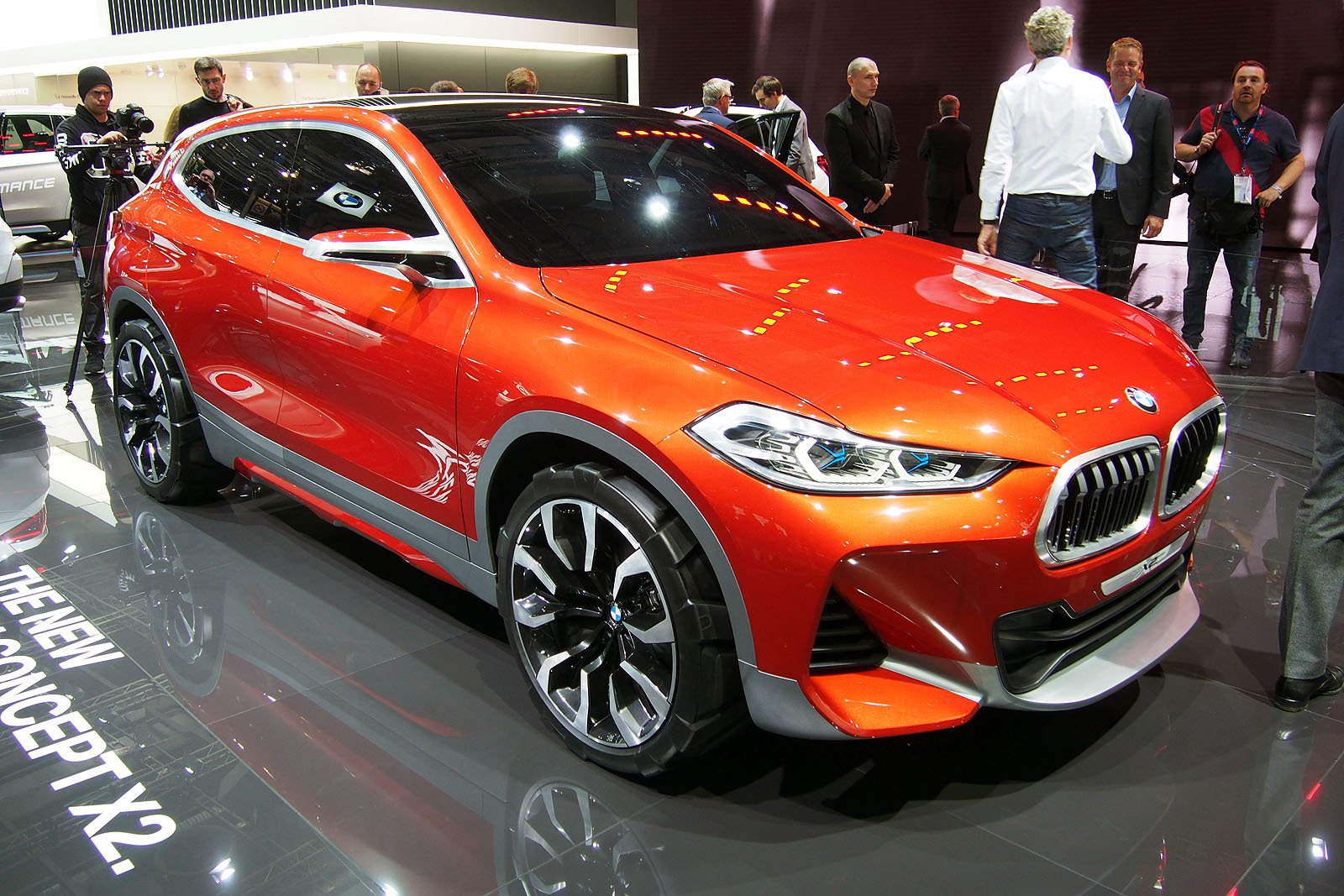 BMW X2 Concept Previews Coupe-Inspired Compact Crossover