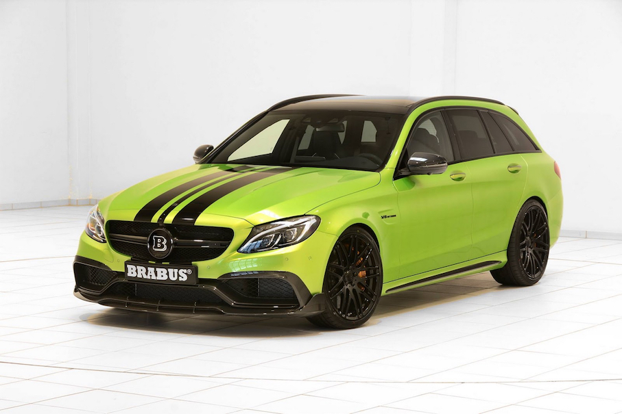 Brabus Gives Mercedes C63 S Estate Tuning Program The Green Light