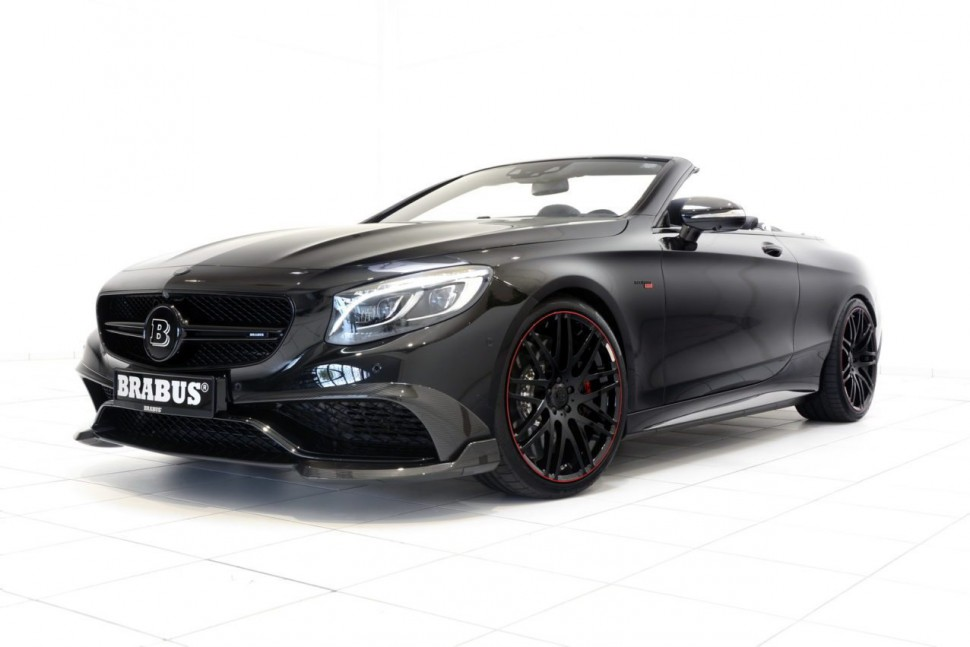 Brabus Just Built the World's Fastest and Most Powerful Four-Seat Cabrio—And It's Crazy