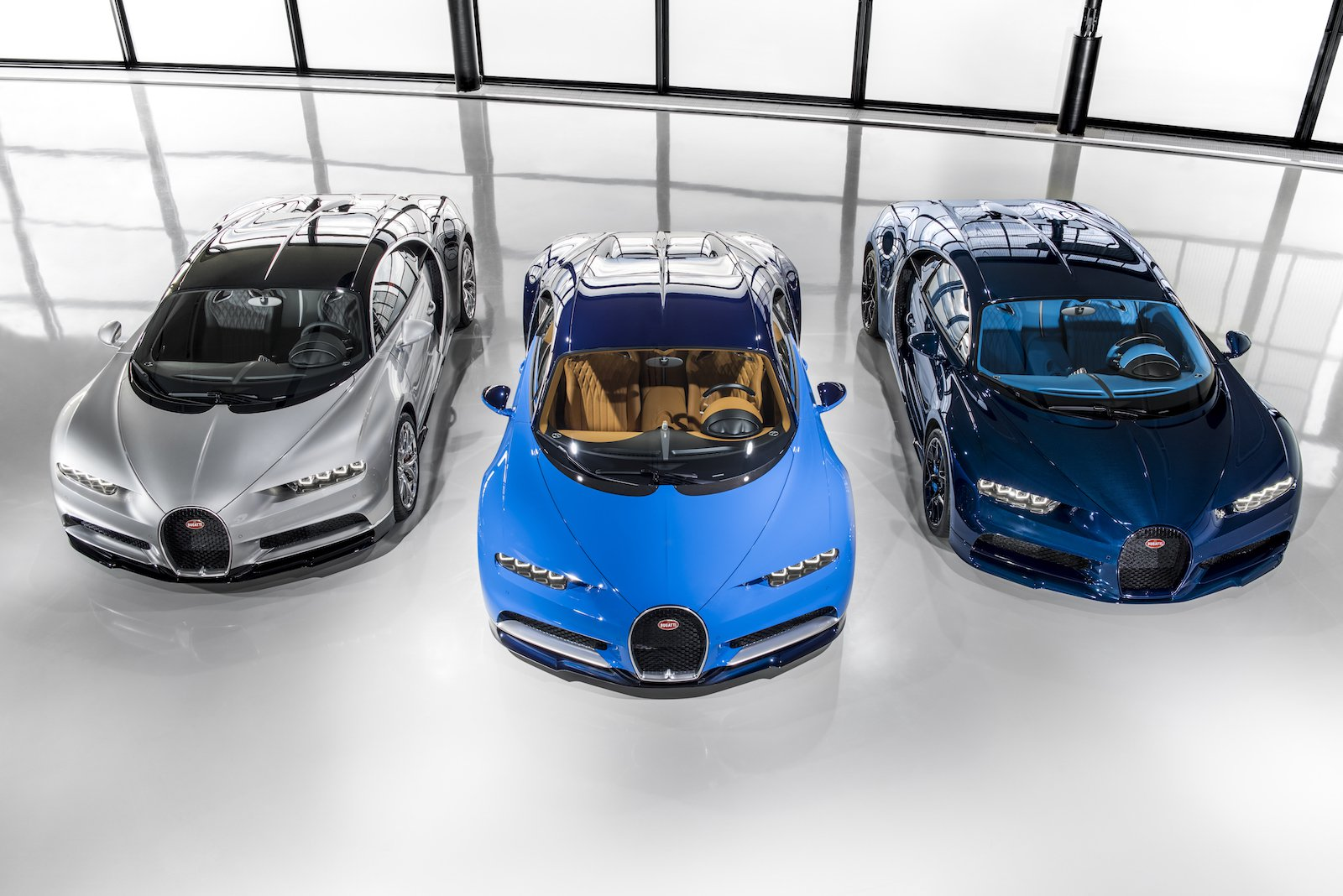 The First Three Bugatti Chirons Find Their Way Home