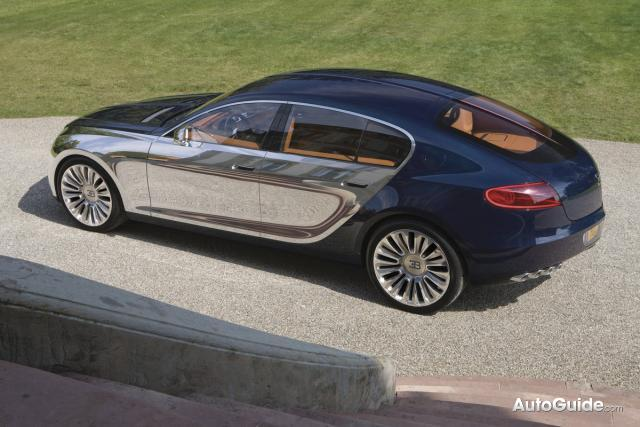 Possible Four-Door Bugatti Galibier Spotted Hiding Under Wraps